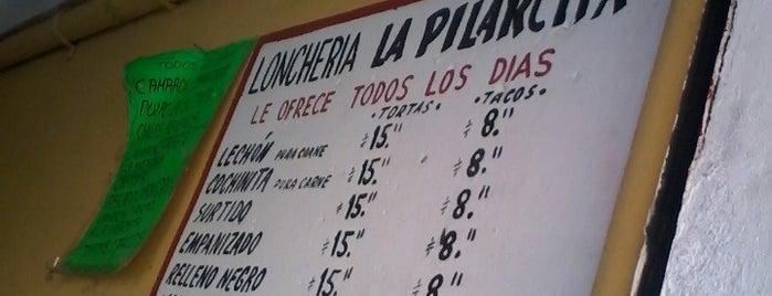 La Pilarcita is one of สถานที่ที่ Leo ถูกใจ.