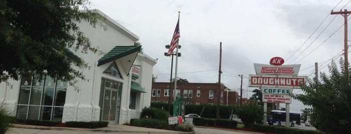 Krispy Kreme Doughnuts is one of Restaurants.
