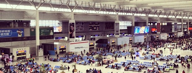 Shanghai Hongqiao Railway Station is one of Lugares favoritos de Shank.