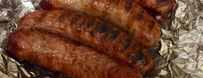 Wolfsen's Meat & Sausage is one of I-5 Eats.