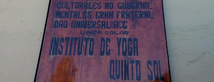 Instituto de Yoga Quinto Sol is one of Mildred'in Kaydettiği Mekanlar.