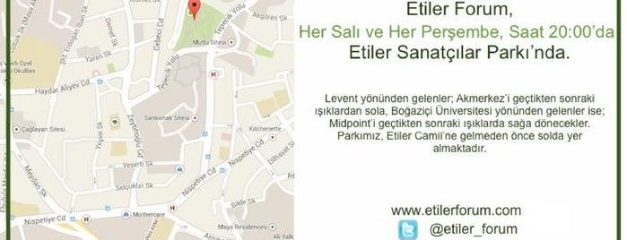 #EtilerForum is one of Denemeden geçme.