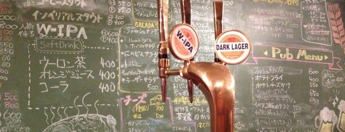 BEER BELLY 天満 is one of Osaka Bars.