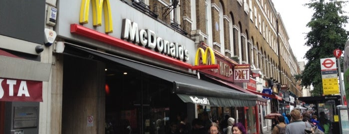 McDonald's is one of London.