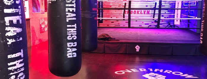 Overthrow Boxing is one of NY Boxing.