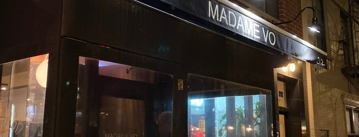 Madame Vo is one of East Village.