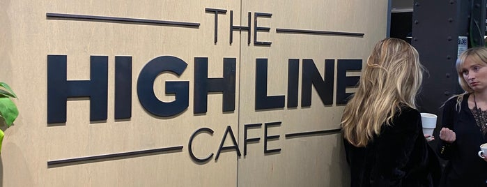 The High Line Cafe is one of USA NYC MAN Chelsea.