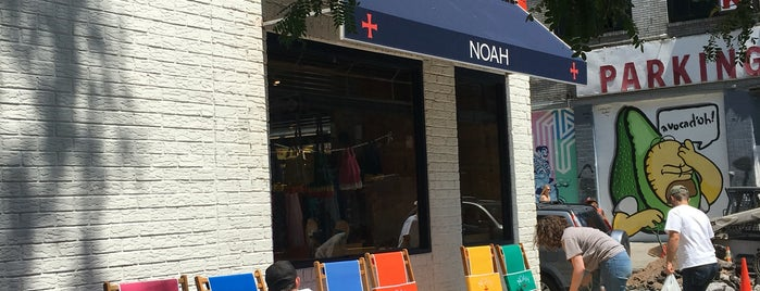 Noah is one of The Ultimate Guide to Shopping in NYC.
