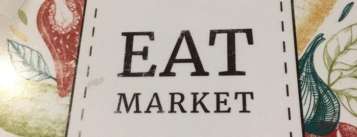 Eat Market is one of Gespeicherte Orte von Vladimir.