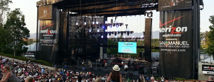 Verizon Wireless Amphitheatre is one of Lugares favoritos de Dan.