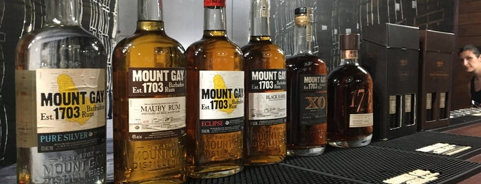 Mount Gay Rum Distillery is one of Locais curtidos por Jessica.