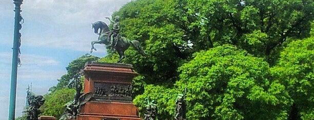 Plaza Libertador General San Martín is one of Capital Federal (AR).