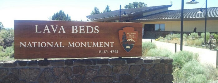 Lava Beds Visitor Center is one of Bay Area - Portland - Seattle.