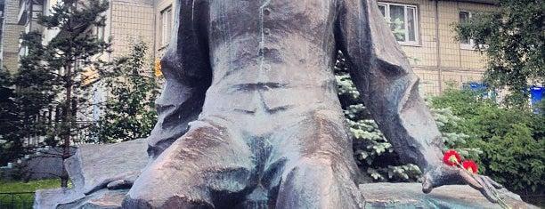 Памятник Шостаковичу is one of СПб..