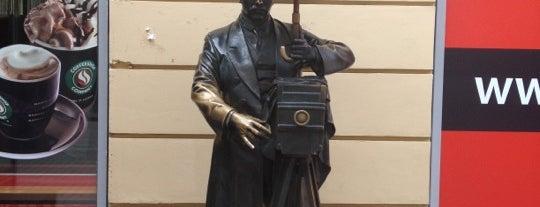 Памятник фотографу is one of Интересный Питер.