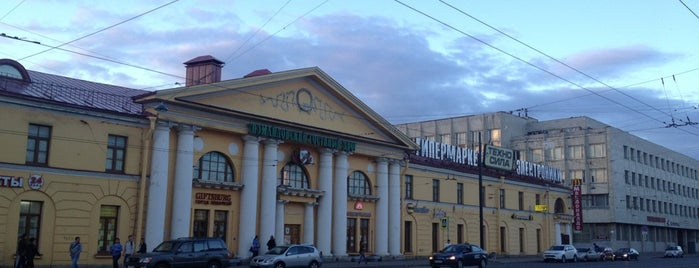 ТОЦ «Измайловский гостиный двор» is one of Торговые центры в Санкт-Петербурге.