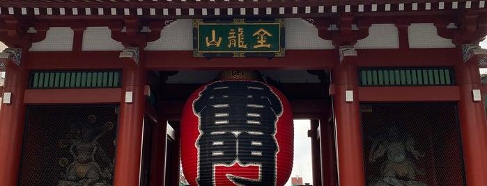 Raijin Statue is one of 東京ココに行く! Vol.43.