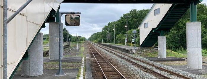 遠浅駅 is one of JR 홋카이도역 (JR 北海道地方の駅).