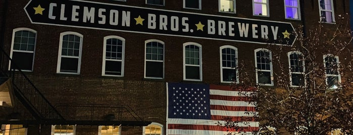 Clemson Brothers Brewery is one of Lugares guardados de Zach.