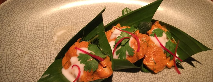 nahm is one of The World's 50 Best Restaurants.
