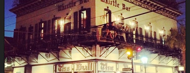 The Bull & Whistle Bar is one of USA Key West.