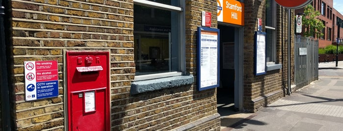 Stamford Hill Railway Station (SMH) is one of Spring Famous London Story.