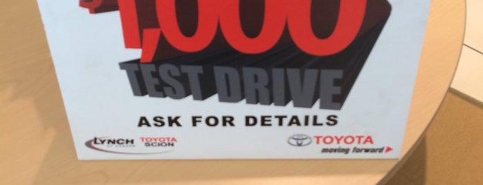 Lynch Toyota of Auburn is one of Daron : понравившиеся места.