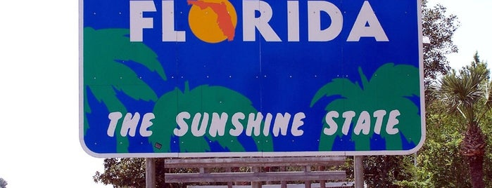 Florida / Georgia State Line is one of Nicholas : понравившиеся места.