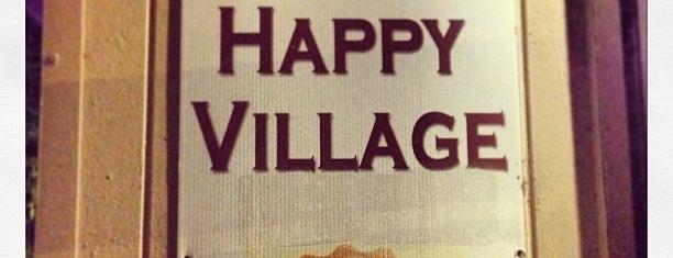 Happy Village is one of 16 Best Outdoor Bars In Chicago.