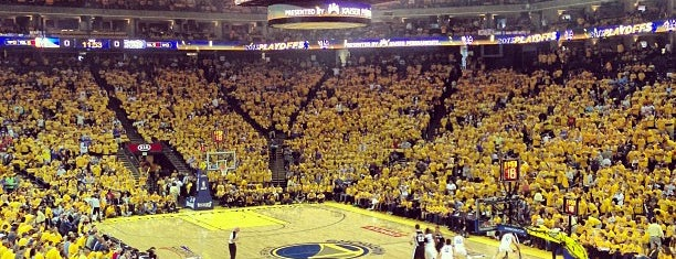 Oakland Arena is one of NBA Arenas.