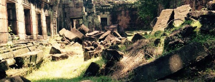 Preah Khan is one of Angkor Archaeological Park Highlights.
