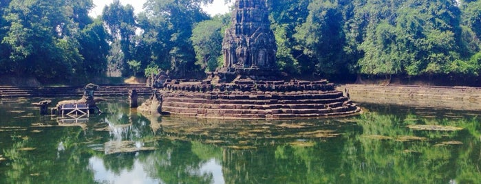 Neak Pean is one of Angkor Archaeological Park Highlights.