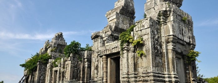 Phnom Bok Temple I ប្រាសាទភ្នំបូក is one of Angkor Archaeological Park Highlights.