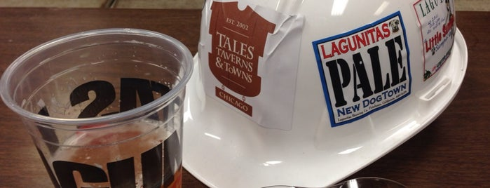Lagunitas Brewing Company is one of Chicago Craftbeer.