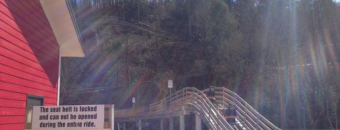 Smoky Mountain Alpine Coaster is one of สถานที่ที่ Chris ถูกใจ.