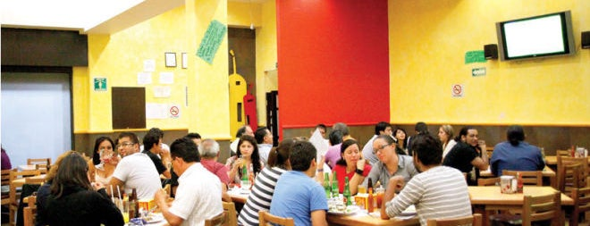 El Fuerte de la Colonia is one of DF Dining.
