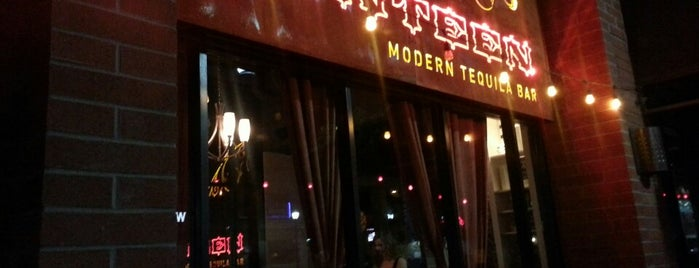Canteen Modern Tequila Bar is one of Phoenix new times.