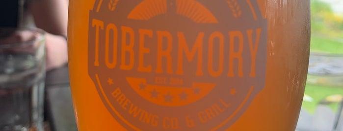 Tobermory Brewing Co & Grill is one of Quin'in Beğendiği Mekanlar.