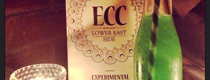 Experimental Cocktail Club is one of Speak Easy New York.