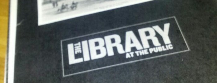 The Library at The Public is one of CocktailNY.
