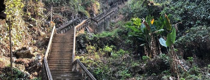 ThamChangCave is one of Laos 🇱🇦.