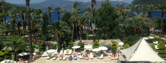 Hotel Aqua is one of Marmaris İçmeler.