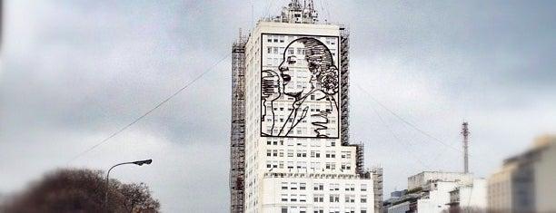 Mural de Eva Perón is one of Outdoor Activity in BAires.