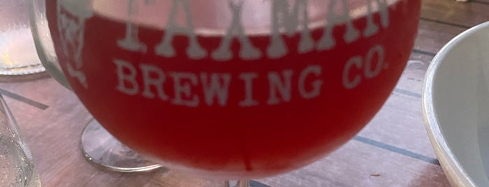 Taxman Brewing Co. is one of Jared's Saved Places.