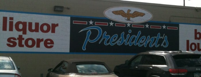 Presidents liquor is one of Top picks for Food and Drink Shops.