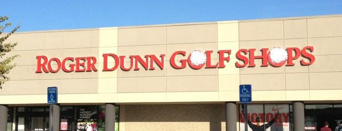 Roger Dunn Golf Shops is one of Gespeicherte Orte von Chris.