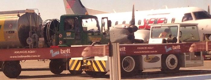 Aeroporto de Goiânia / Santa Genoveva (GYN) is one of Eduardo : понравившиеся места.
