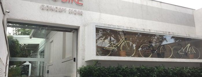 Adoro Bike is one of Locais curtidos por Caroline.