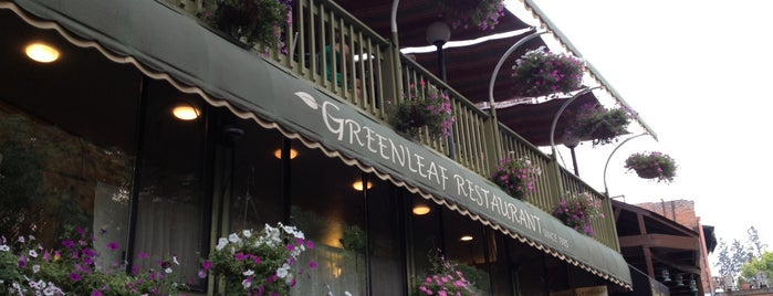 Greenleaf Restaurant is one of Oregon.