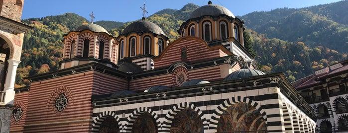 Рилски манастир (Rila Monastery) is one of Lieux qui ont plu à Aylin.